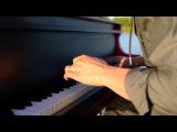 Дабстеп на пианино на озере.