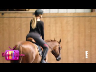 "Khloe Kardashian gets teased for being ""sexual"" on horseback by Kourtney and Scott"