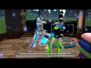 furry dancing in Second Life (skrilleks)